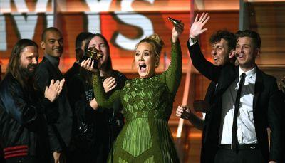 Adele's Grammy Speech Made Beyoncé Cry And Floored The Entire Internet