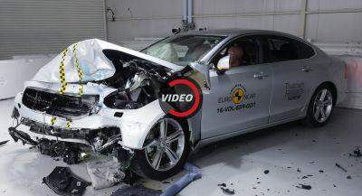 New Volvo S90 And V90 Get Top Safety Ratings From Euro NCAP