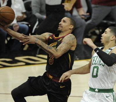 George Hill's scoring outburst supports LeBron James' masterpiece