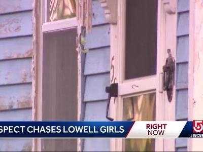 Man chases girls into home in Lowell