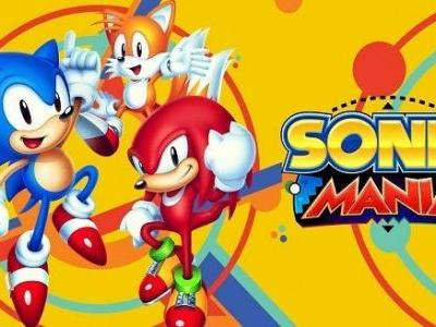 Sonic Mania Sales Surpass One Million Units Worldwide