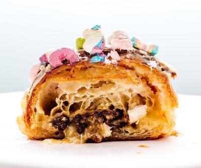 How to Make a Twice Baked Lucky Charms Almond Croissant