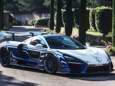 There's a Paint Job That Actually Makes the McLaren Senna Look Good