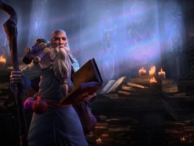Diablo's Deckard Cain is all up in Heroes of the Storm