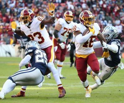 Redskins outlast Cowboys after Brett Maher's field goal attempt hits upright