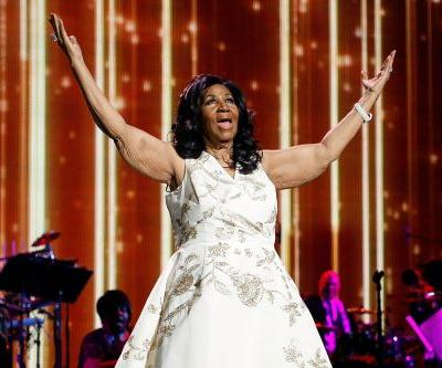 Aretha Franklin given the ultimate send-off by pals, celebs