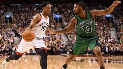 DeRozan, Ibaka lead the charge in Raptors victory over Celtics