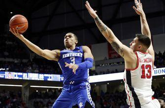 No. 6 Kentucky earns hard-fought 80-76 win over Mississippi