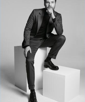 Daniel Brühl Connects with BOSS for Made in Germany Capsule Campaign