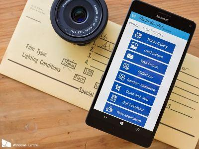 Photo Box Pro for Windows 10 aims to elevate your images