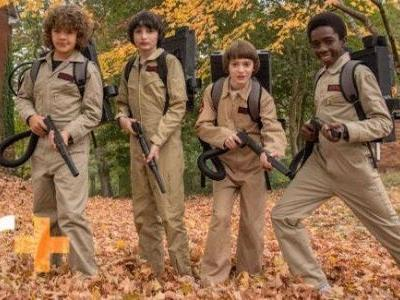 Stranger Things 2 Image Unites the Hawkins Ghostbusters