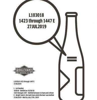 Tank 7 Glass Bottle Recall