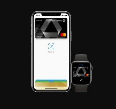 Apple Pay now available to Sparkasse and Commerzbank customers in Germany
