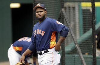 Astros pitcher Martes suspended for 80 games for drug test