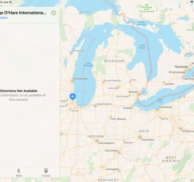 Apple confirms Maps outage: 'Directions not available'