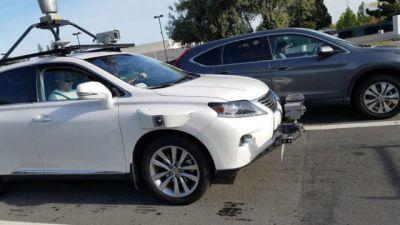 Photos Of Apple's Self-Driving Test Vehicle Surfaces