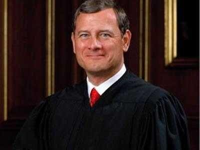 Chief Justice John Roberts was briefly hospitalized in June after a fall