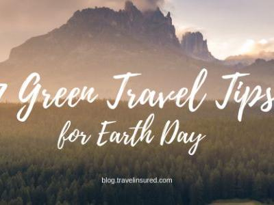 7 Green Travel Tips for Earth Day