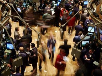US stocks climb in choppy trading on strong housing data and restarted stimulus talks