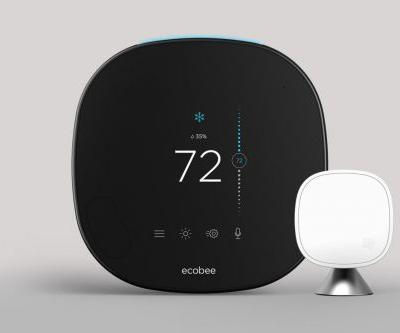Ecobee's fifth-generation SmartThermostat with voice control is available now