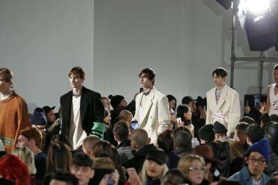 Raf Simons's First Runway Show in New York Paid Tribute to the Big Apple