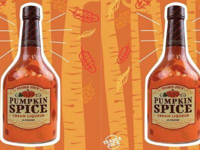 Trader Joe's Releases Pumpkin Spice Cream Liqueur and PSLs Will Never Be the Same Again