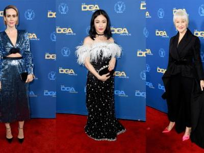 Statement Lips and Shimmery Dresses Were Popular at the 2019 Directors Guild of America Awards