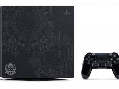 A Kingdom Hearts-Themed PlayStation 4 Pro Is Coming To North America