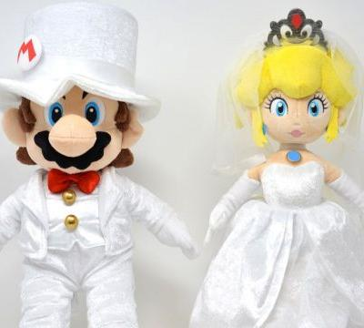Nintendo NYC gets some adorable Mario Odyssey wedding plushes