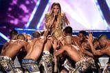 Picking Our Favorite Part of Jennifer Lopez's VMAs Vanguard Performance Is Impossible
