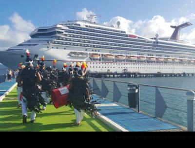 A Seatrade Cruise Award and new visitor to the Port of Fort-de-France