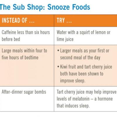 What to Eat When You Can't Sleep