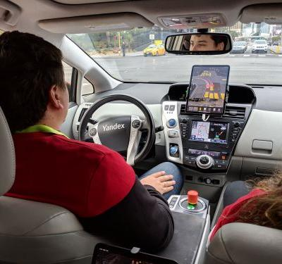 I rode in a self-driving car for the first time, and it was operated by the Google of Russia - here's what it was like
