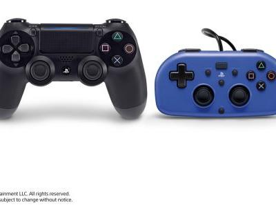 Sony Targets Younger PS4 Players with the HORI Mini Wired Gamepad