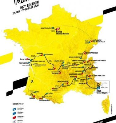 Five stages to look forward to at the 2020 Tour de France