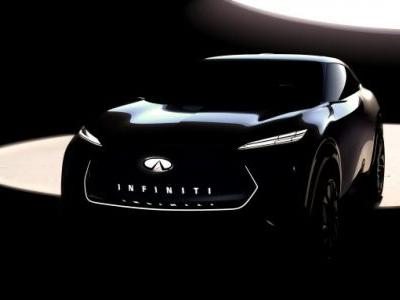 Infiniti electric crossover concept teases alluring EV