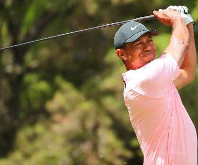 Dustin Johnson leads at Mexico Championship, Tiger making up ground