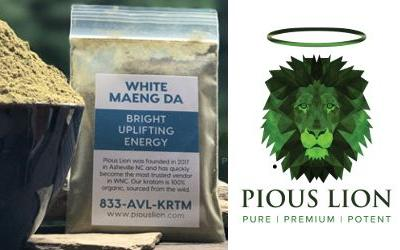 Pious Lion pulls kratom after illness, positive Salmonella result