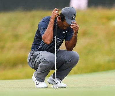 Tiger Woods lets another round get away from him, shoots 78 at U.S. Open
