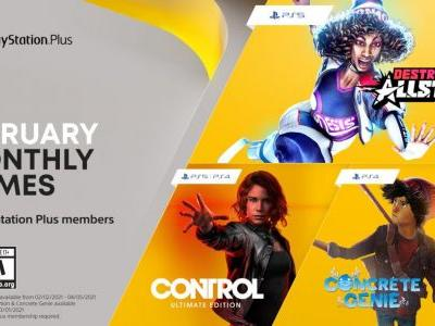 PlayStation Plus Games for February 2021 Announced