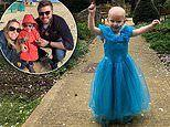 Three-year-old with brain cancer endures weeks of chemo but the disease returned seven months later