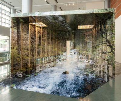 A New Three-Dimensional Installation by Chris Engman Invites the Viewer to Step Inside a Photograph