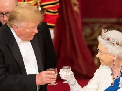 Here's the menu for the banquet the Queen threw in honor of Trump's UK state visit