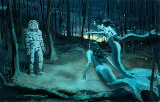 Mermaids and Astronauts the Digital Wave