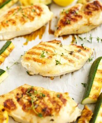 Lemon-Thyme Grilled Chicken