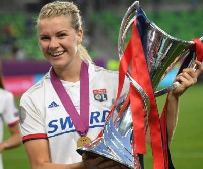 Lyon women's star Hegerberg out for months with knee ligament injury