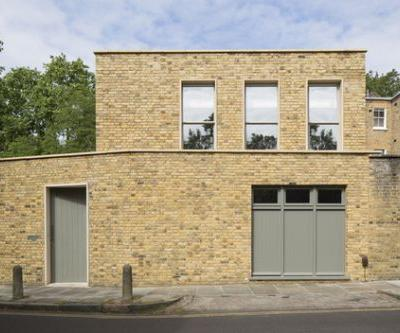 Prefabricated Islington Courtyard House / Mitzman Architects LLP