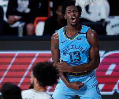Memphis Grizzlies' Jaren Jackson Jr. done for rest of play in bubble after tearing meniscus