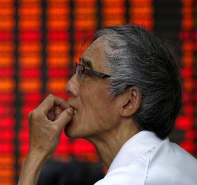 China's disappointing data dump weighs on Asia stocks