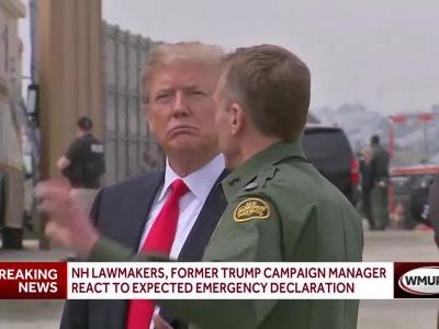 NH lawmakers, former Trump campaign manager react to expected emergency declaration
